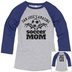 San Jose . Soccer mom