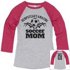 Hempstead. Soccer mom