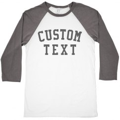 Customizable Trendy Raglan