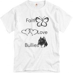 Faith and Bullies Tee