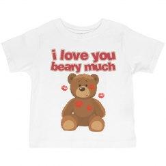 Love Beary much tee