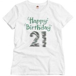 21St Birthday Tee