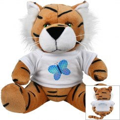 Butterfly Plush Tiger