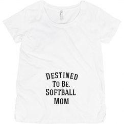 Destined to be softball mom