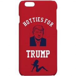 Hotties For Trump Iphone Case