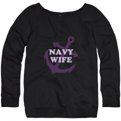 Navy Wife Sweater