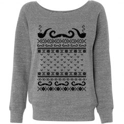 My Ugly Mustache Sweater