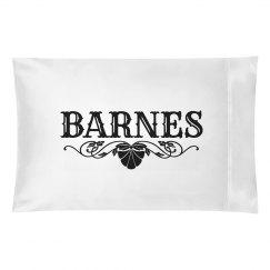 BARNES. Pillow case