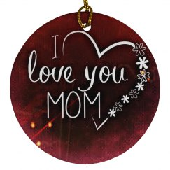 Decorative Love Mum