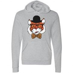 Hipster Tiger Hoodie