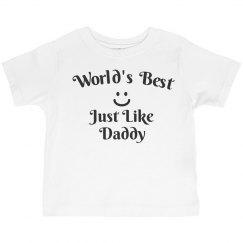 World's best like daddy