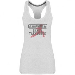 I Know Taekwondo tank Top