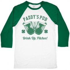 Paddy's Pub Drink Up Pitches Tee