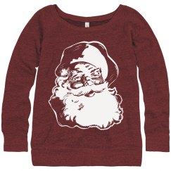Trendy Vintage Santa