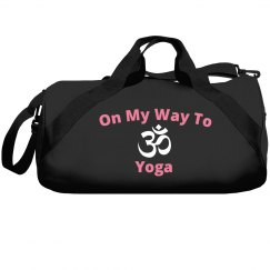 On my way to yoga