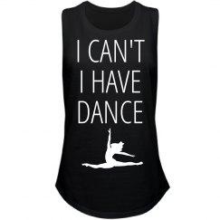 I can't I have dance