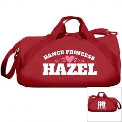 Hazel, dance princess