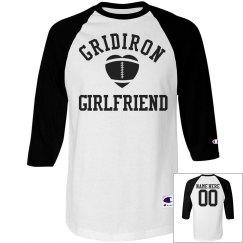Gridiron Girlfriend Football Girlfriend Custom Jersey