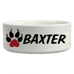 Baxter, Dog Bowl