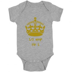 Silver and Gold onsie