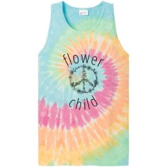 Flower child hippie tee