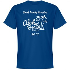 Custom family Vacation Shirt