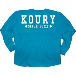 I Liked Koury Since Custom Date