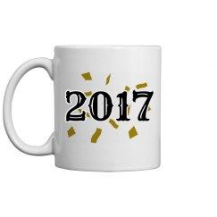 Confetti Happy New Year 2017