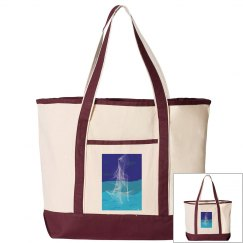 Ghost Ship Tote