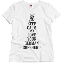 Love your german shepherd