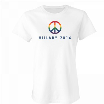 Female Gay Pride Hillary