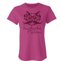 Cat Mustache A Question