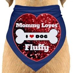 Red Heart Doggie Bone Love