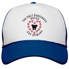 Dog Lovers Slogan Hat