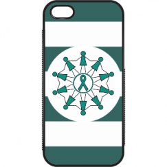 Together Teal iPhone Case
