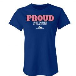 Proud coach