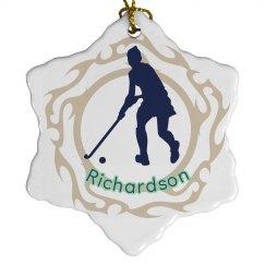 Hockey Ornament Christmas