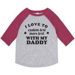 Cute Favorite Thing To Do With Dad