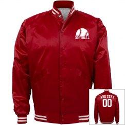 Softball bomber Jacket