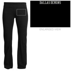 Dallas Demons Yoga Pants