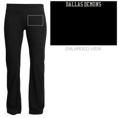 Dallas Demons Yoga Pants