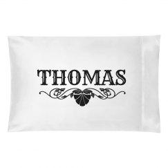 THOMAS. Pillow case