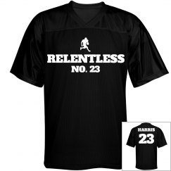 Relentless Player Football Mom or Football Dad Shirts
