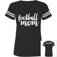 Football Mom Custom Text on Back