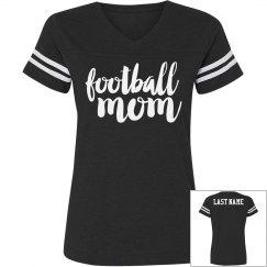 Football Mom Custom Text on Back