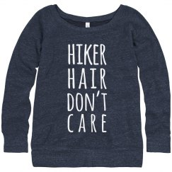 Hiker Hair, Don't Care