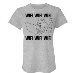 Cats Love WIFI. Duh.