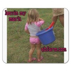 LMM#155 Cowgirls love feed buckets better than purses!