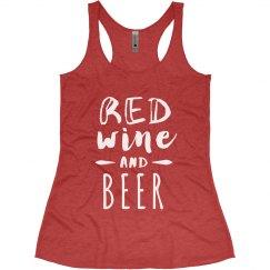 Red Wine & Beer Women's shirt