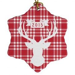 Christmas Deer Ornament
